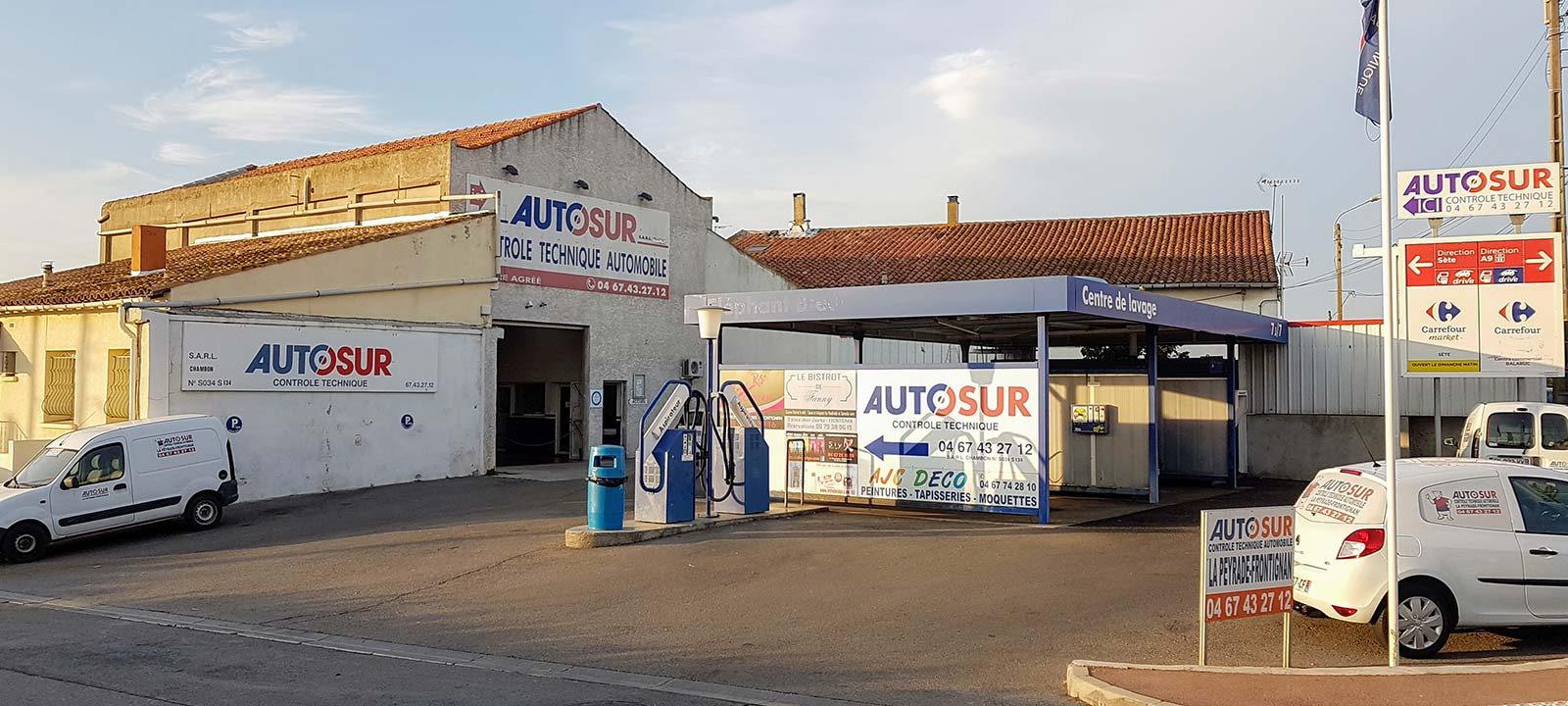 Autosur contr le technique automobile frontignan for Garage auto frontignan